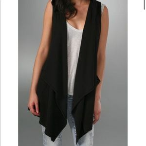 Joie Black Jessi 100% Cashmere Hooded Cardigan